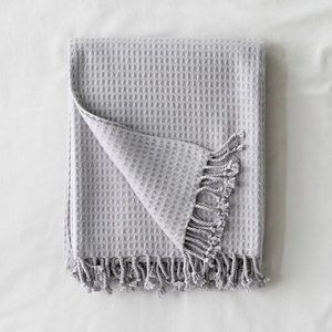 Urban Outfitters Brushed Waffle Throw Blanket